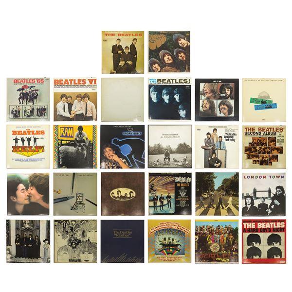 Set of 26 Beatles Records