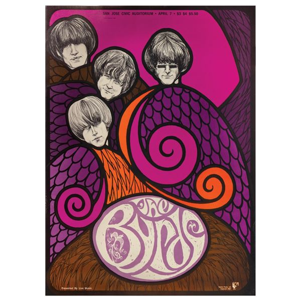 The Byrds Poster.