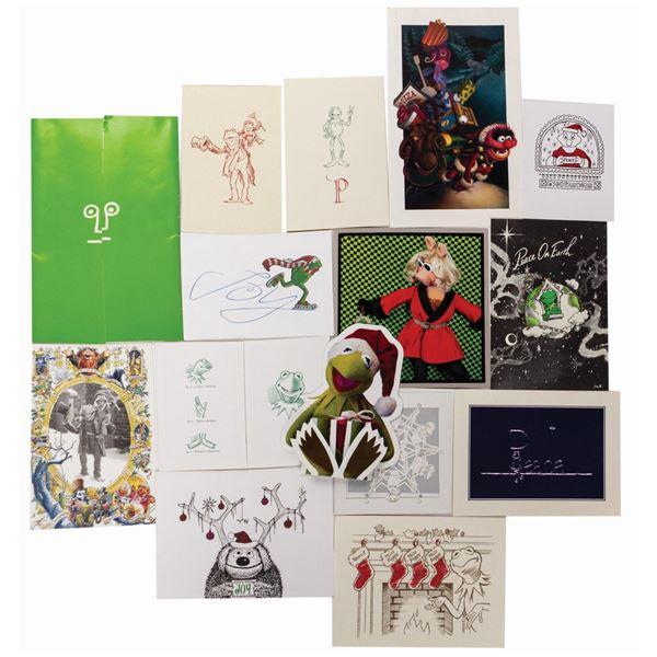 Jim Henson (15) Christmas Cards.