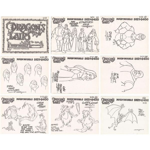 Dragon's Lair TV Show Model Pack.