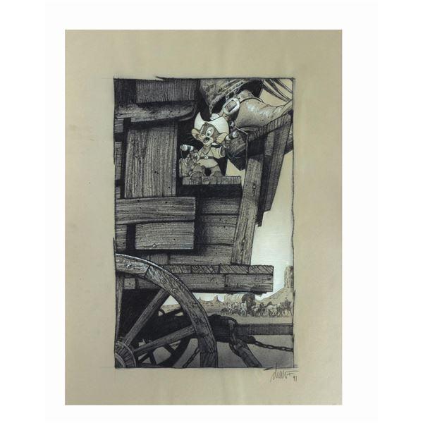 Struzan An American Tail: Fievel Goes West Poster Art.