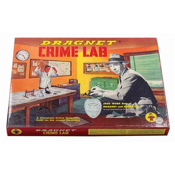 Dragnet Crime Lab.