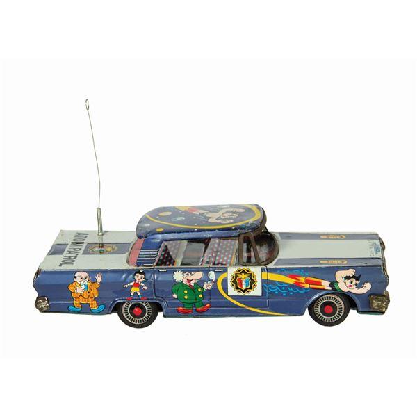 Mighty Atom/Astro Boy Atom Patrol Police Car.