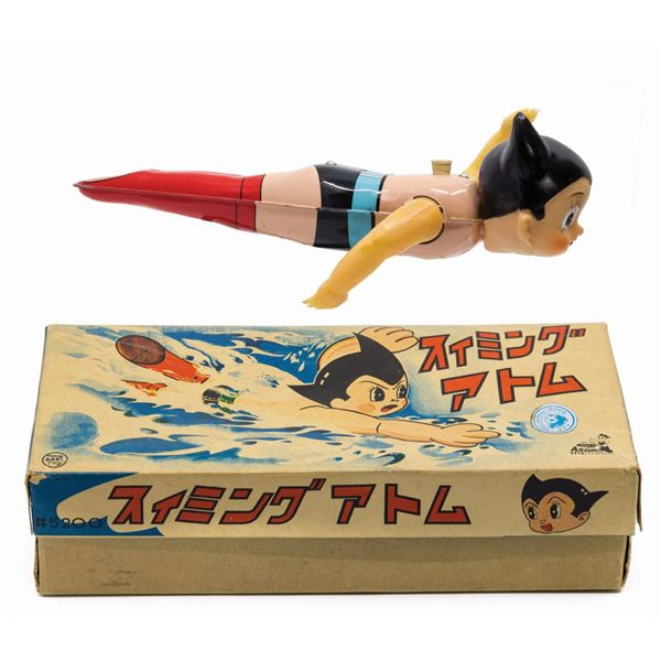 Mighty Atom/Astro Boy Wind-Up Swimmer.