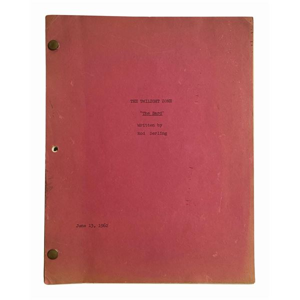 The Twilight Zone Episode Script for The Bard.