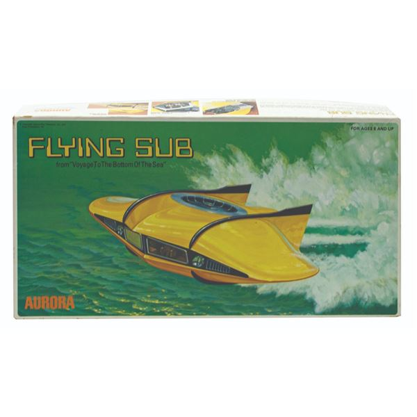 Voyage to the Bottom of the Sea Flying Sub Model Kit.