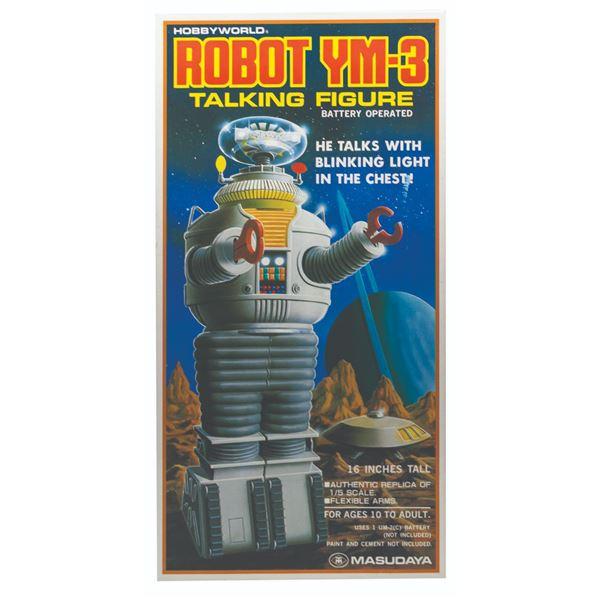 Lost in Space Robot YM-3 Talking Figure.