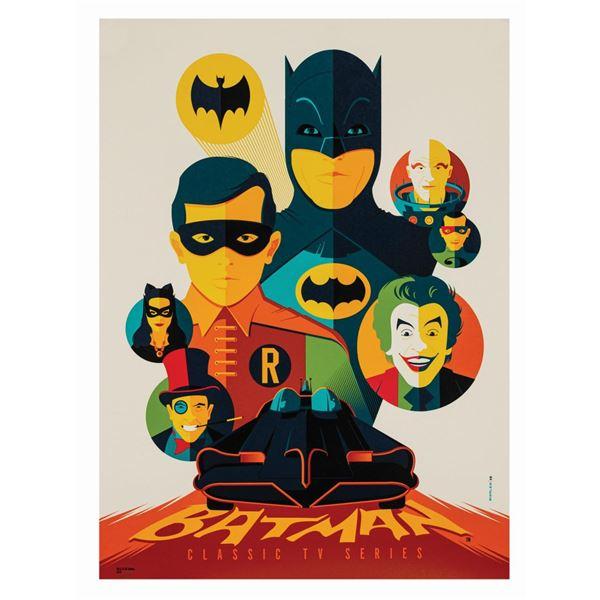 Tom Whalen Batman Classic TV Series Print.