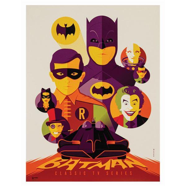 Tom Whalen Batman Classic TV Series Variant Print.
