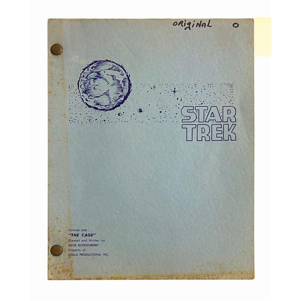 Star Trek: TOS Series Pilot Master Script for The Cage.