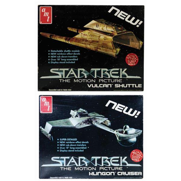 Pair of Star Trek The Motion Picture Model Kits.