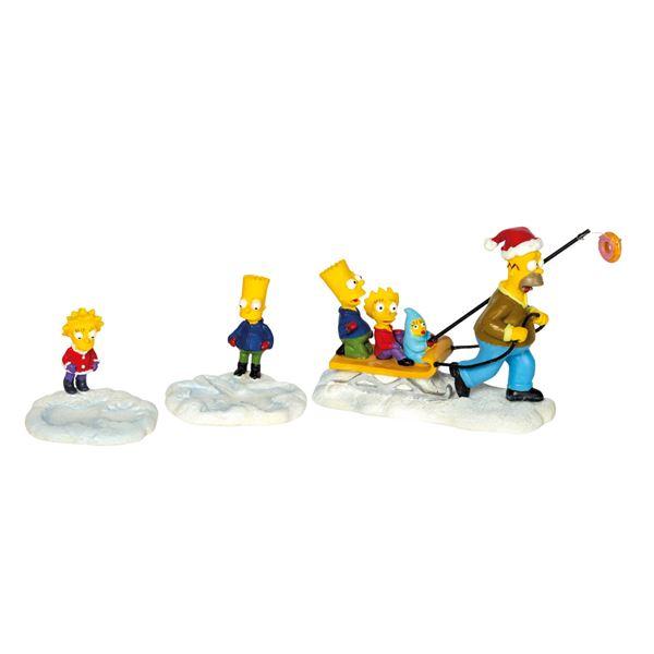 """The Simpsons """"Let it D'oh!"""" Figure Set."""