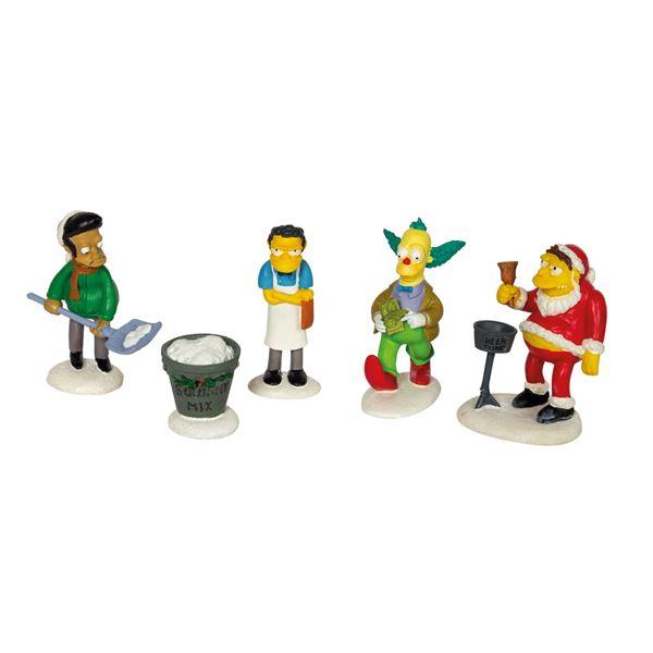 "The Simpsons ""Merry Christmas to Me"" Figure Set."