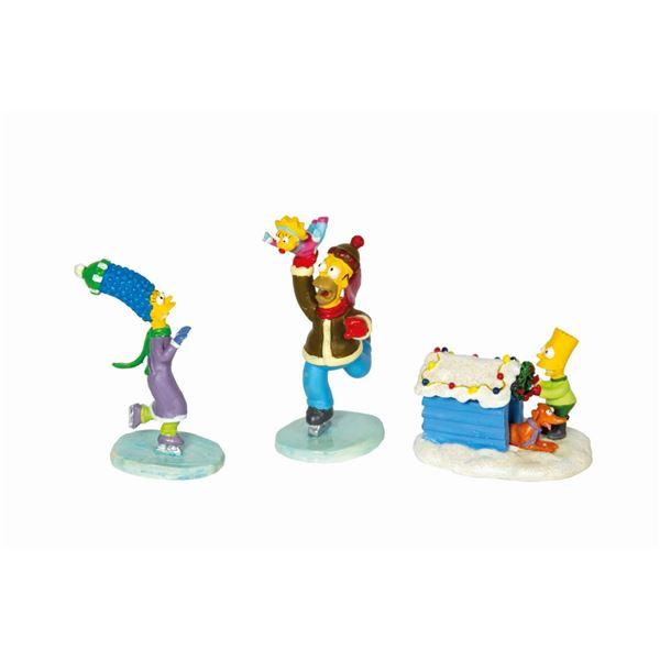 "The Simpsons ""Winter's Wonders"" Figure Set."