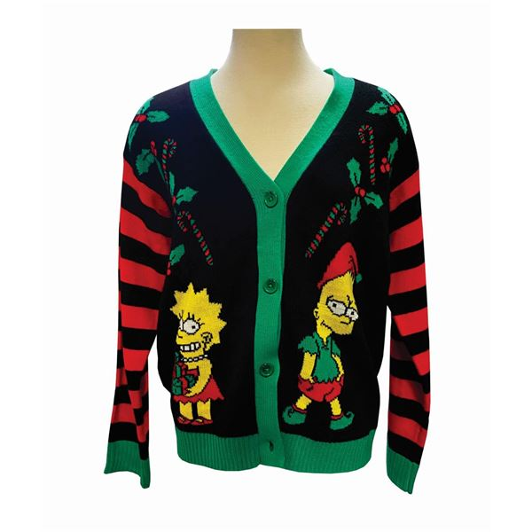 Nancy Cartwright's The Simpsons Christmas Sweater.