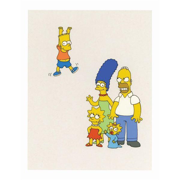 The Simpsons Newsweek Magazine Cover Art.