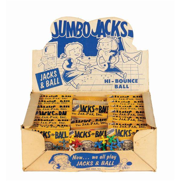 Jumbo Jacks Jak-Paks Store Display.