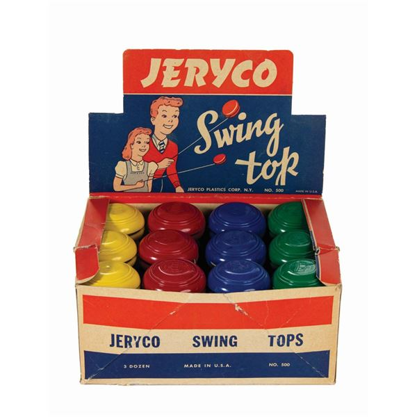 Jeryco Swing Top Store Display.