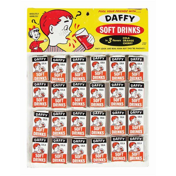 Daffy Soft Drinks Prank Soda Store Display.