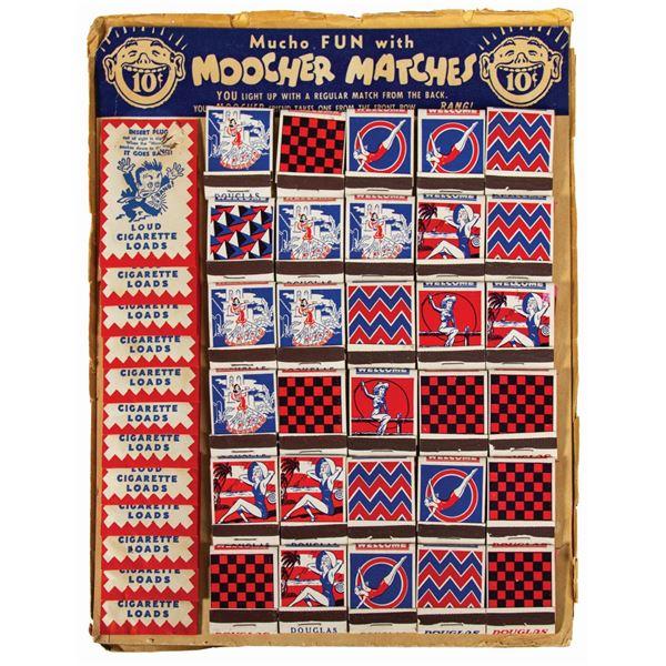Moocher Matches Prank Matches Store Display.