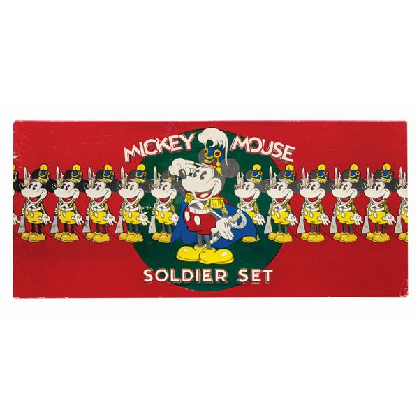 Mickey Mouse Soldier Set Target Game.