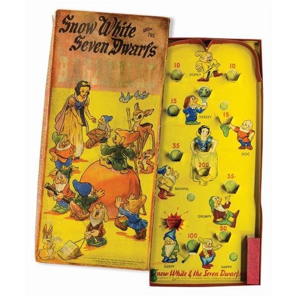 Seven Dwarfs Bagatelle Game.
