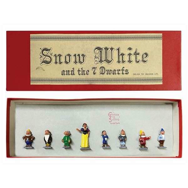 Set of (8) Snow White and the Seven Dwarfs Figures.