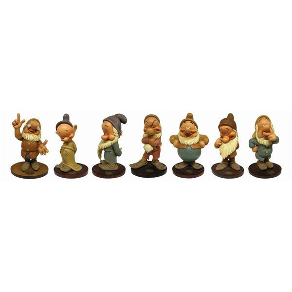 Set of (7) Gustaf Tenggren Style Dwarf Figures.