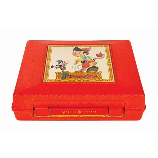 Pinocchio GE Phonograph Record Player.