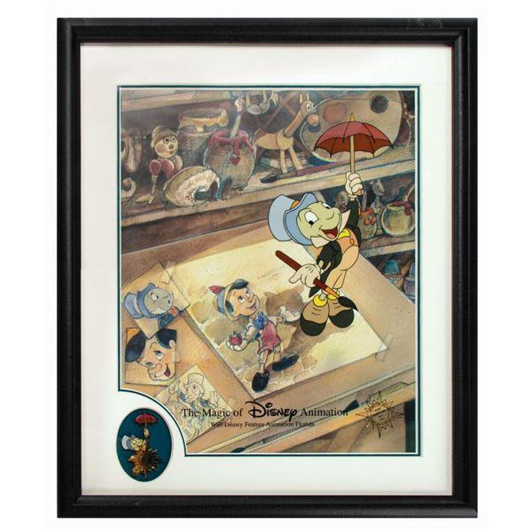 Jiminy Cricket Cel & Pin Set.