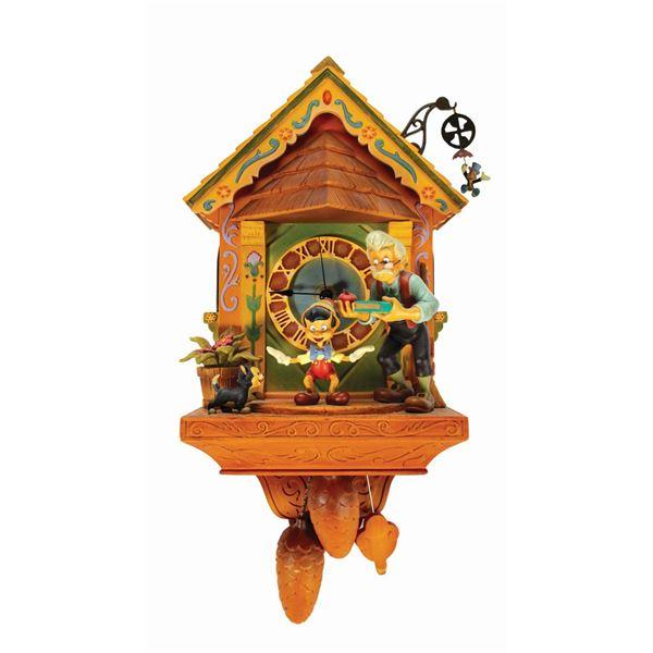 Pinocchio Limited Edition Commemorative Clock.