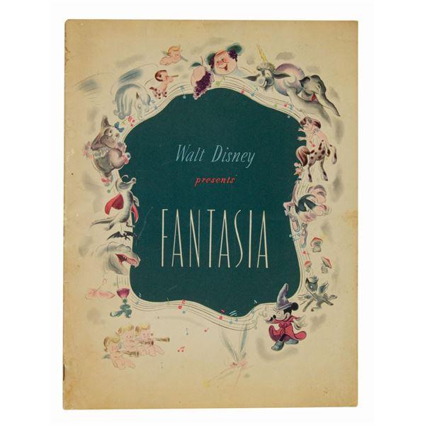 Fantasia Souvenir Program.