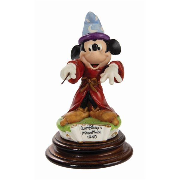 Capodiamonte Mickey Mouse Figurine.