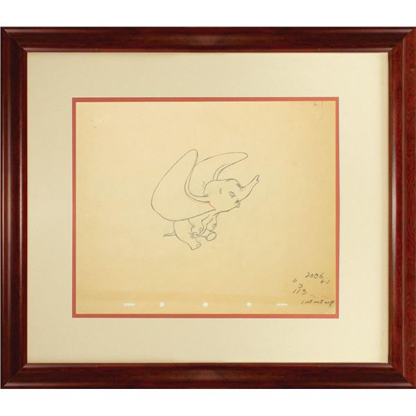 Dumbo Production Drawing.