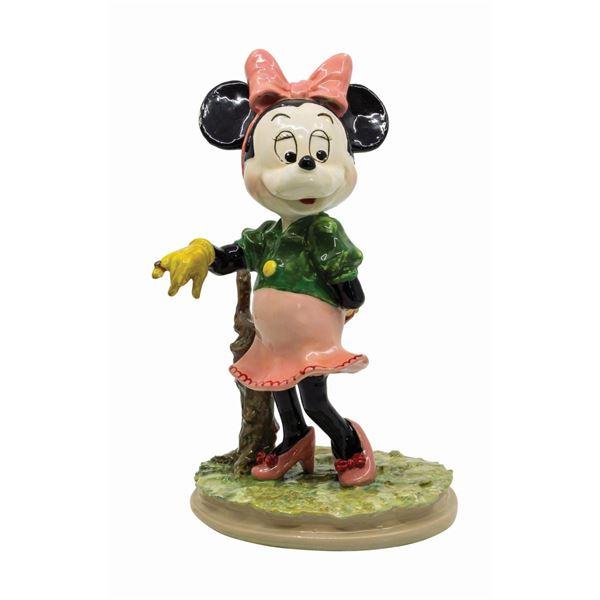 Minnie Mouse Ceramic Figure by Zaccagnini.