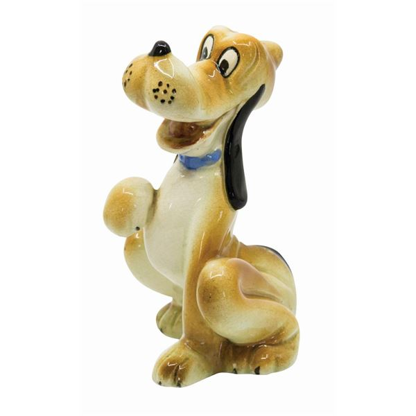 Pluto Ceramic Figurine by Zaccagnini.