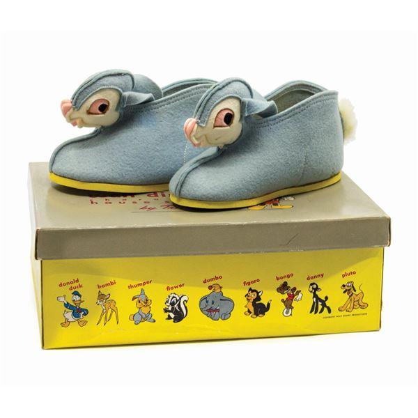 Thumper Trimfoot Walt Disney House Shoes.