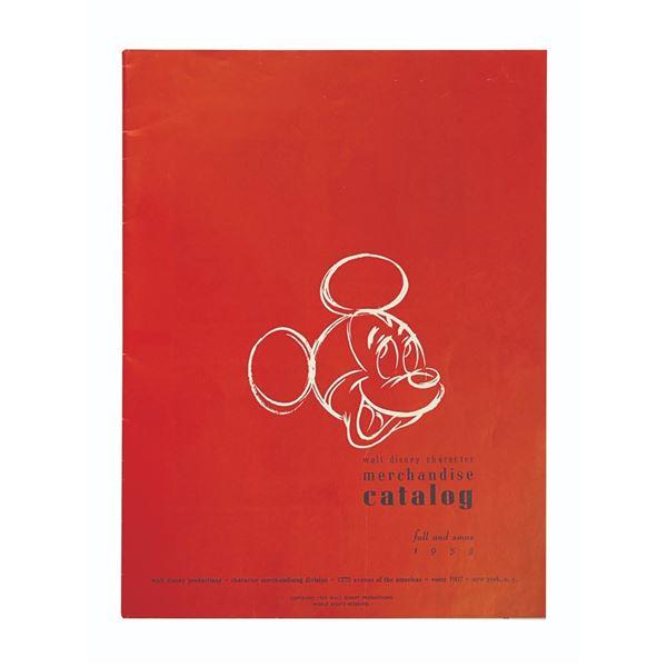 Walt Disney Character Merchandise Catalog.