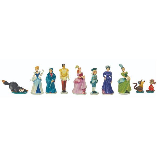 Set of (10) Cinderella Olszewski Goebel Miniatures.