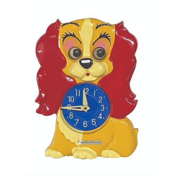 Lady and the Tramp Pendulum Clock.