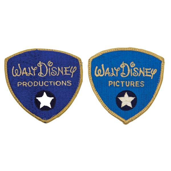 Pair of Walt Disney Studios Security Patches.