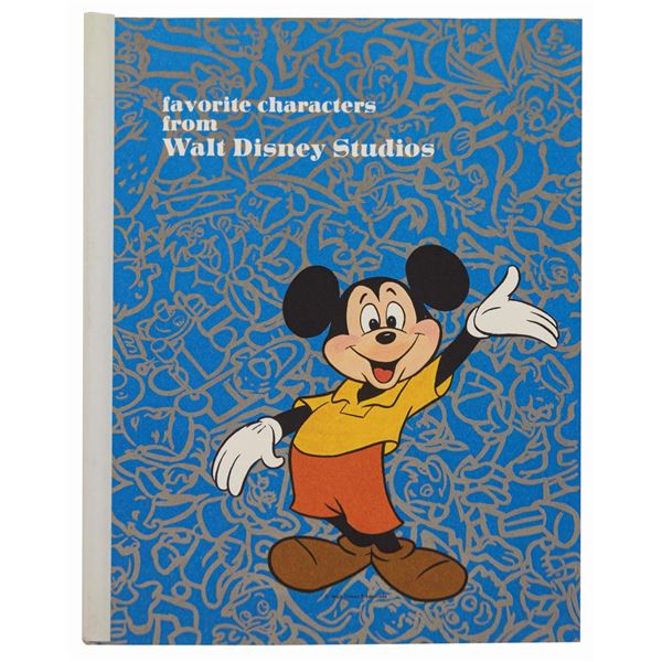 Disney Character Appearance Licensing Guide.