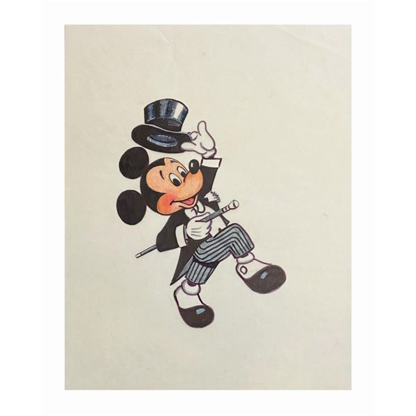 Performer Mickey Mouse Illustration.