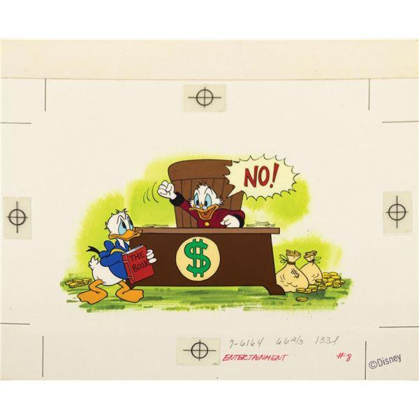 Scrooge McDuck Children's Book Illustration.