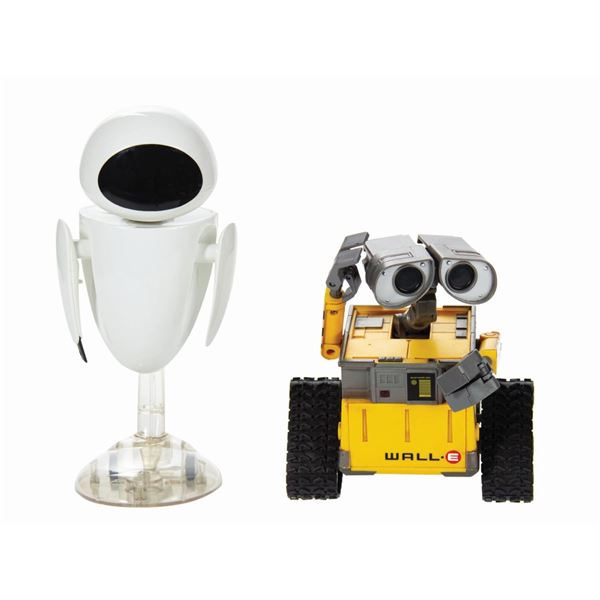 Electronic Talking Wall-E and Eve Toys.