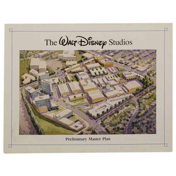 Walt Disney Studios Preliminary Master Plan Brochure.