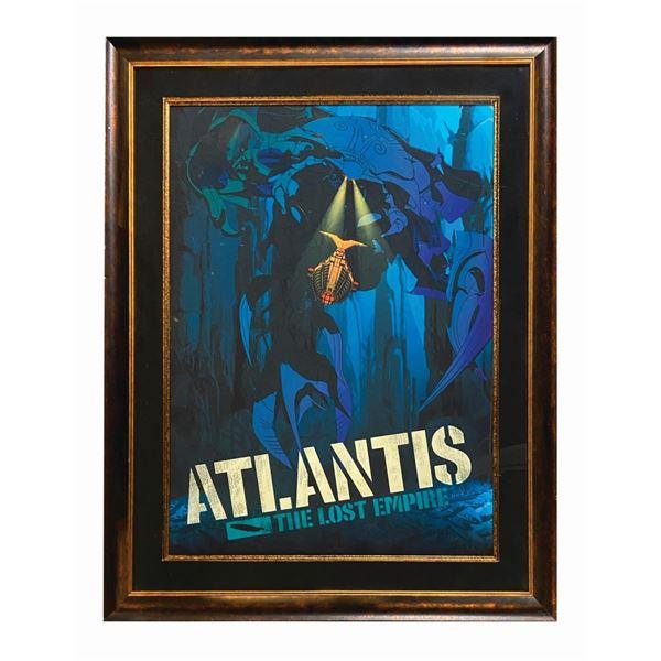 Atlantis: The Lost Empire Oversized Serigraph Print.