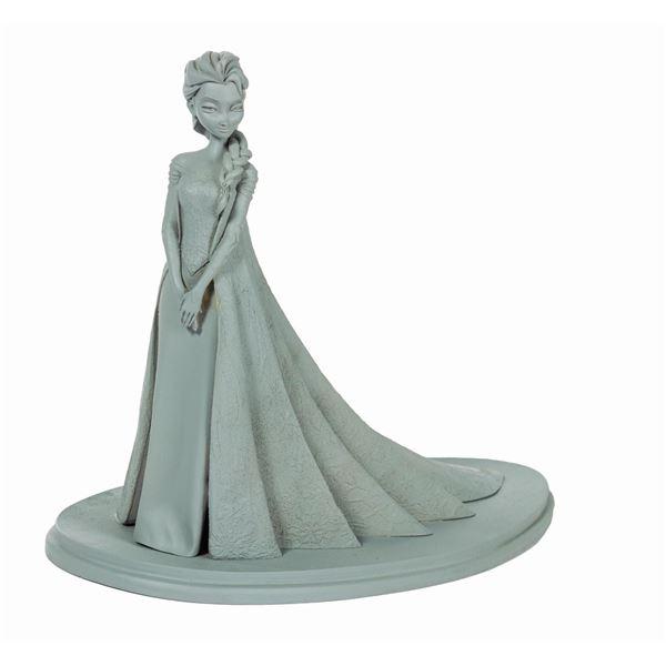 Elsa Maquette from Frozen.