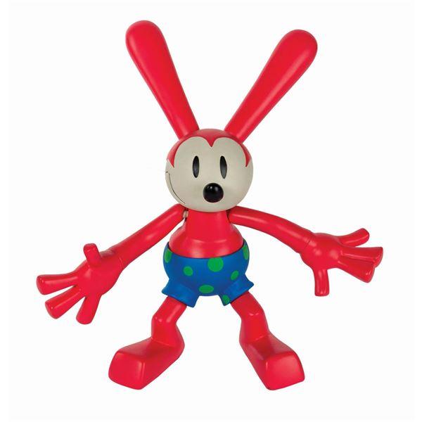 Oswald the Lucky Rabbit Rare Vinyl Figure.