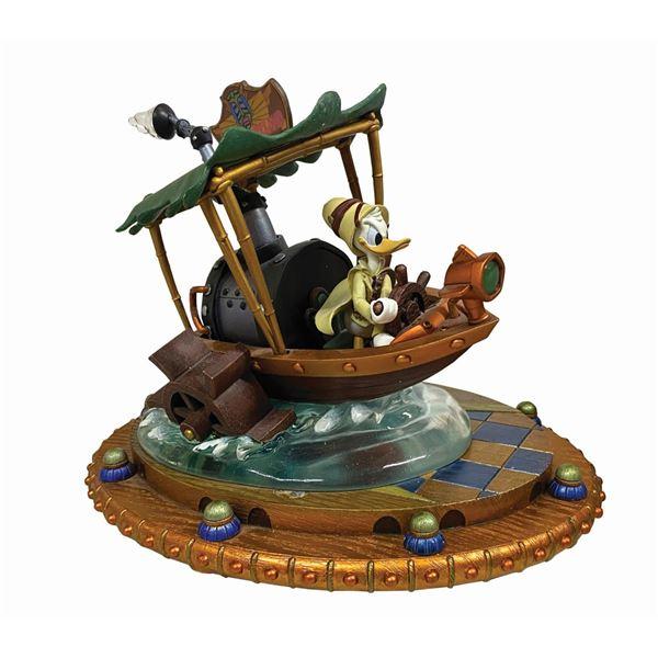 Donald Duck Steampunk The Jungle Cruise Figurine.